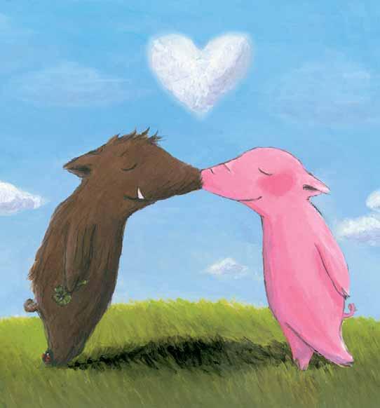 Kuss-rosalie-und-trueffel in