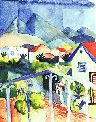 August Macke Tunis in