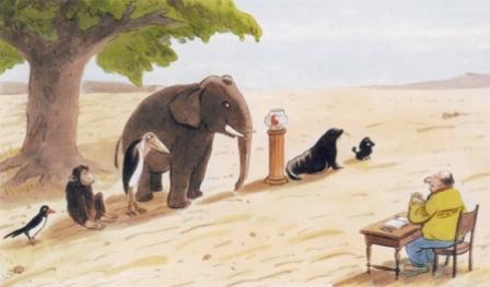 Schule Der Tiere Gerechte Auslese1 in