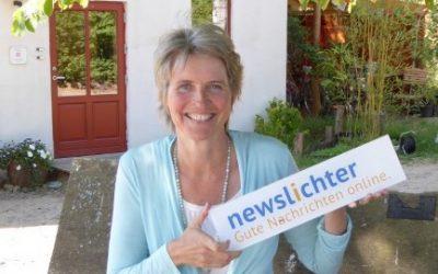 Endlich gibt es Good News – Bettina Sahling verbreitet positive Nachrichten