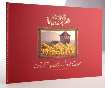 Werbe Grand Prix Signum Laudis in Bronze für diese Jubiläumsbroschüre